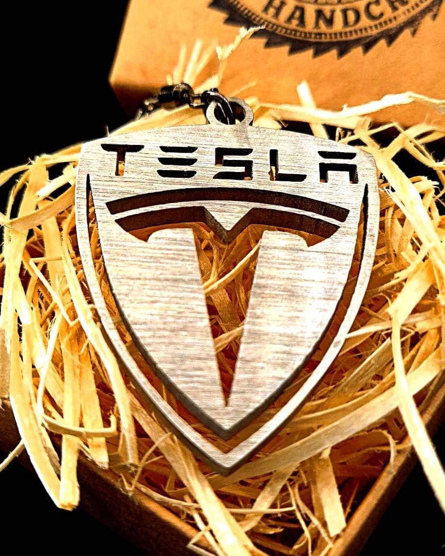 FORTILLO Tesla Porte-cl/és en acier inoxydable fabriqu/é /à la main