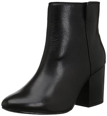 ALDO Women s Masen Ankle Bootie Black Leather 7.5 ... ff646c64a5c9