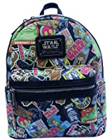 Star Wars Character Cartoon Patch Disney Mini Festival Backpack by Loungefly