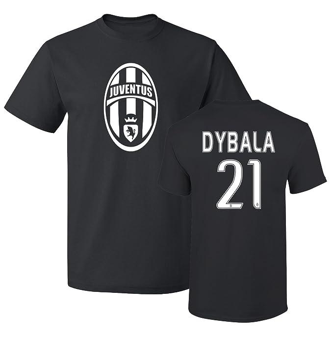 pretty nice 9d9e9 0b34b Tcamp Juventus Shirt Paulo Dybala #21 Jersey Men T-shirt ...