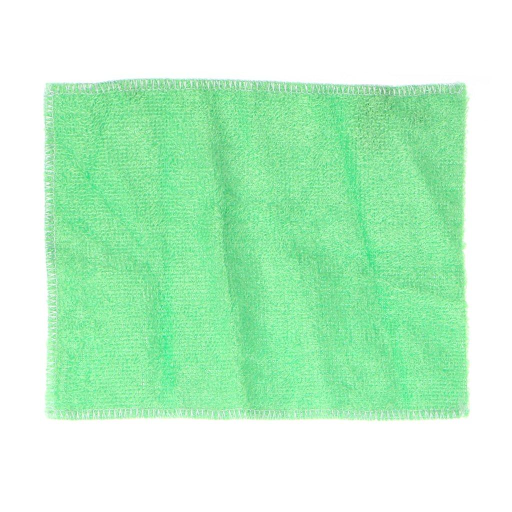 onpiece 22.5 X 18 cm anti-greaseカラーDish Cloth車、タオル、洗濯Magic拭き取るRags 22.5x18cm Onpiece_ B076TDN6HQ グリーン