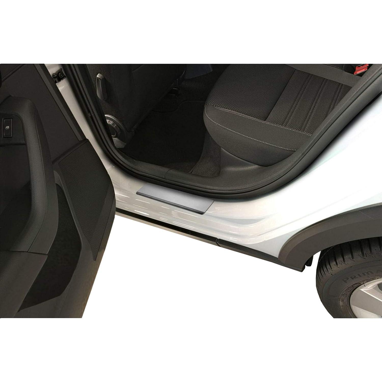 Einstiegsleisten Schwarz Zierleisten Kantenschutz Edelstahl Honda HR-V II 15