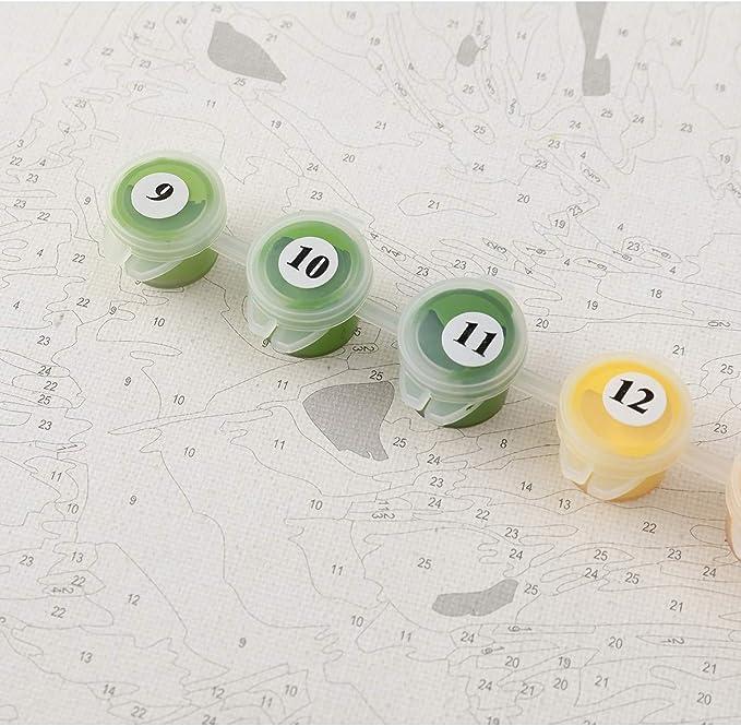 YXQSED [Rahmenlos] DIY Pintura por Números Pint por Número de Kits for Adultos Mayores Avanzada Niños Joven-Sueño del número de Van Gogh 16x20 Inch: Amazon.es: Juguetes y juegos
