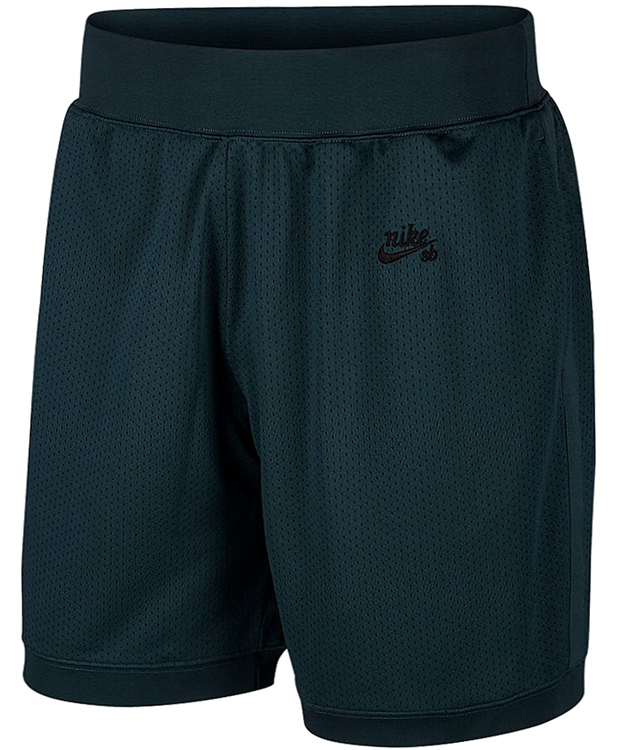 Nike M Nk Sb Dry Short Court Hrtge - deep jungle schwarz