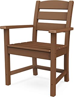product image for POLYWOOD Lakeside Dining Chair, Teak