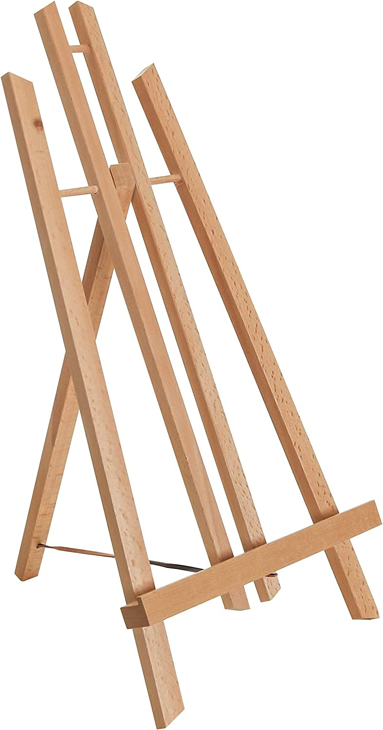 16/'/' Wooden Folding Plate Display Easel Stand Photo Picture Frame Holder