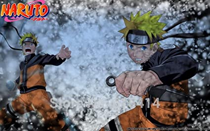 Amazon.com: Anime family 037 Naruto - Sasuke NINJA Fighting ...