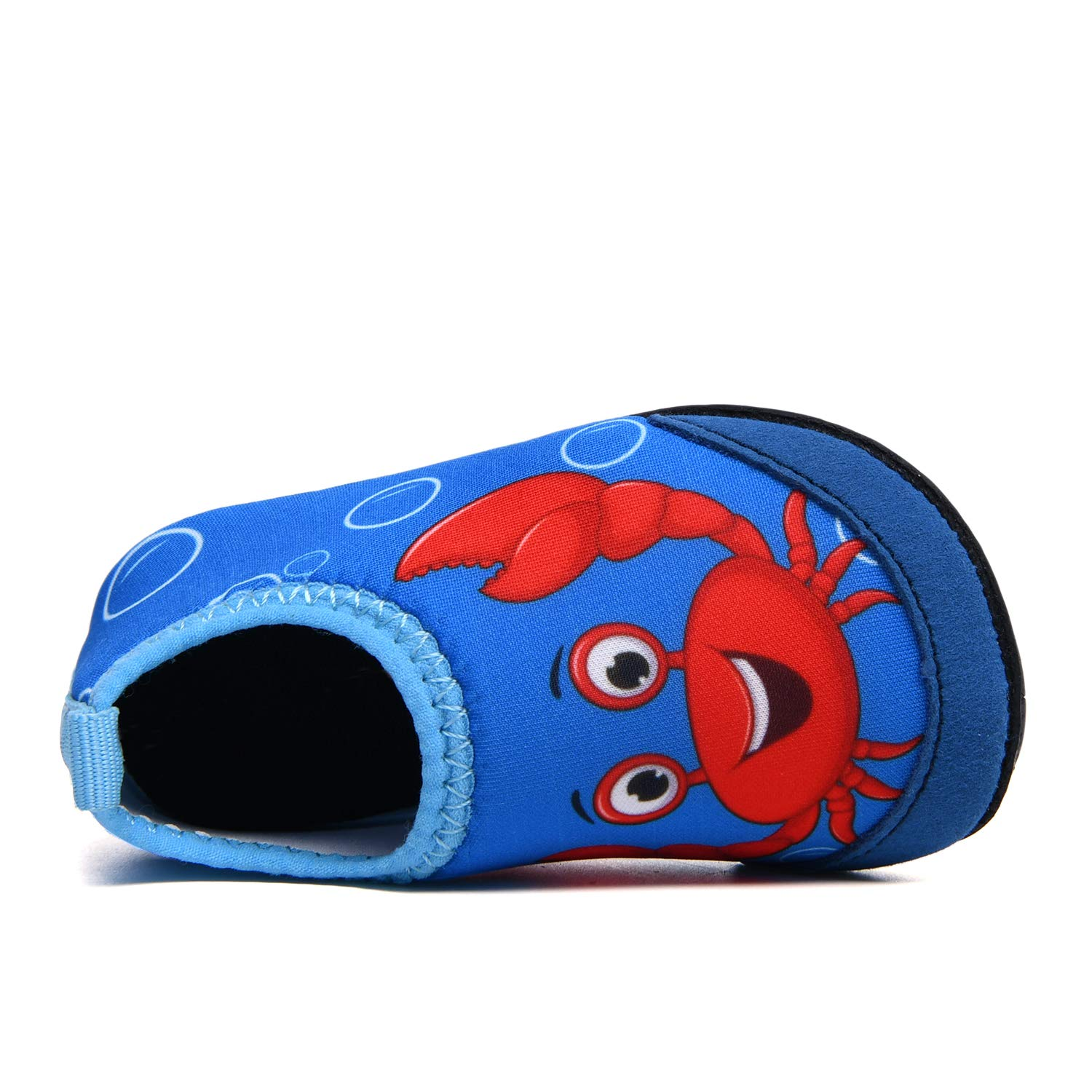 UNN Kids Toddler Water Shoes Barefoot Aqua Socks Quick Dry Non-Slip for Swim Pool Beach Outdoor Sports Activities