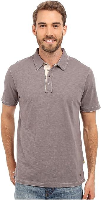 True Grit de hombre Vintage suave Slub Jersey Polo para hombre ...