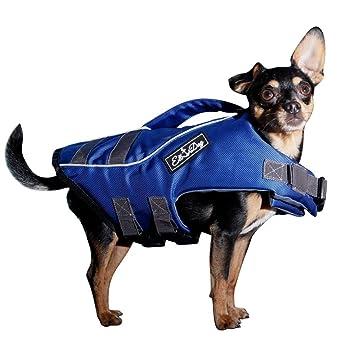 Perros de salvavidas de perros Chaleco salvavidas para pequeños perros - adecuado como flotador para natación y agua costumbre: Amazon.es: Productos para ...