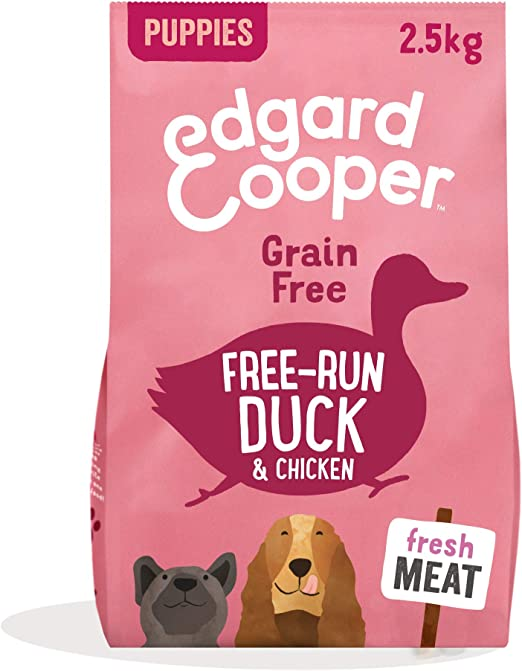Edgard & Cooper pienso para perros adultos sin cereales, natural con Pollo fresco de granja, 2.5kg. Comida premium balanceada sin harinas de carne ni carnes sobreprocesadas cocinada a baja temperatura: Amazon.es: Productos