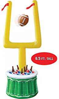 Huge Football Party Inflatable Drink Cooler With Goal Posts And Inflatable  Football  Party Decorations