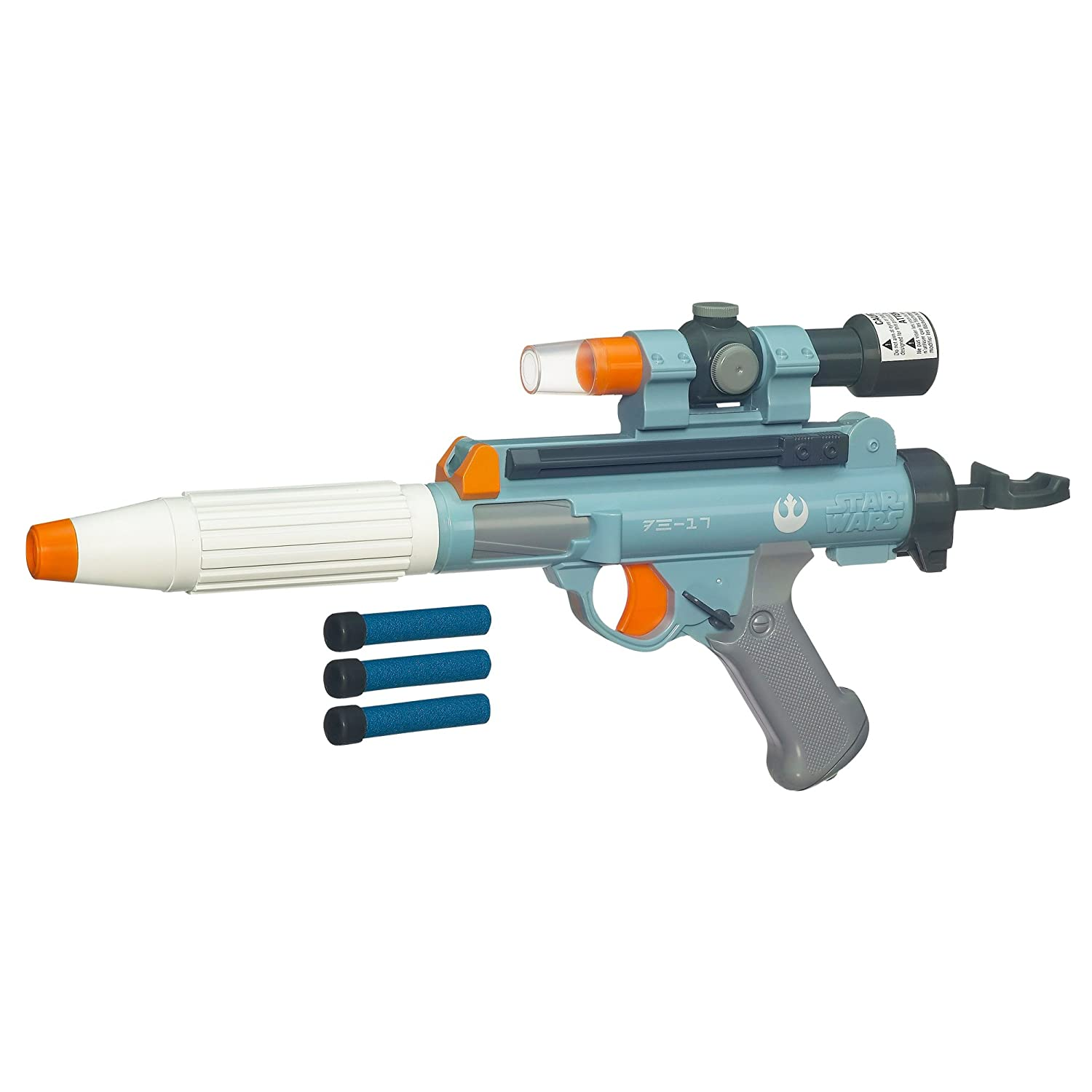 Amazon.com: Star Wars Rebel Trooper Electronic Dart Blaster: Toys & Games