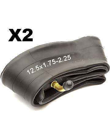 2 X Pram Neumáticos /& 2 x tubos 12.5 X 2,25 Slick Maxi Cosi Britax Trekker