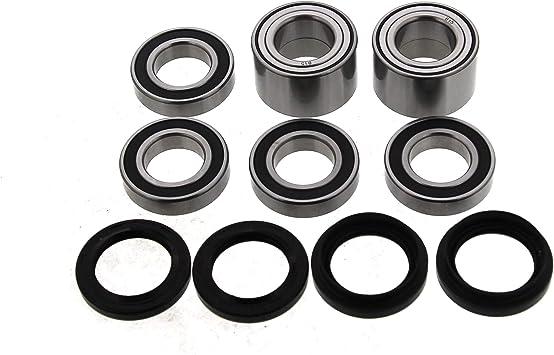 Front Wheel Bearings /& Seals Yamaha Big Bear 400 4x4 2000-2012
