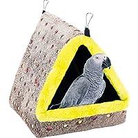 Amosfun 13 Piezas Rat/án Nido de P/ájaro Paloma Aves de Corral Cama de Incubaci/ón Casa de Cr/ía con Huevos de Aves para Conejito H/ámster Chinchillas 20 Cm