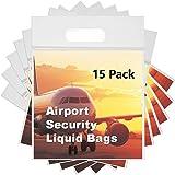 6x Aeropuerto Seguridad Equipaje de Mano Bolsas de líquido ...