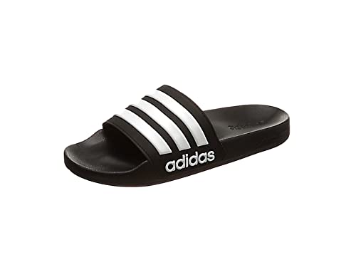 4e446a347229 adidas Men s Cloudfoam Adilette Adilette Flip Flops  Amazon.co.uk ...