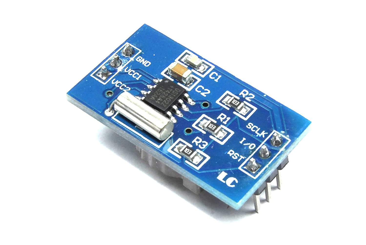 LC Technology DS1302 Real Time Clock Module Arduino RTC 3 wire LC-CLK-1302