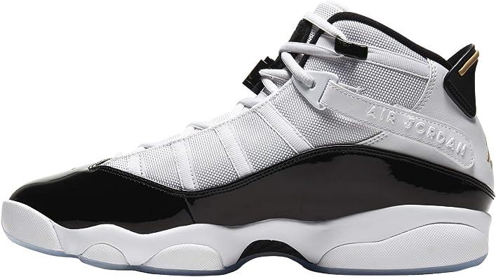 Jordan Air Men's 6 Rings Sneaker White