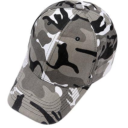 ab411b66ee1d1 Daorier Casquette Camouflage Militaire Baseball Cap Sport Femmes Coton  Tissu Respirant Outdoor Casual Chapeau de Soleil