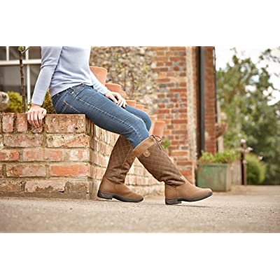 Amazon.com : Dublin Ladies Medway Chocolate Boots 8.5 : Sports & Outdoors