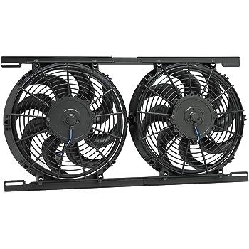 Amazon Com Procomp Dual 16 Quot Inch Electric Cooling Radiator Fan Kit Automotive