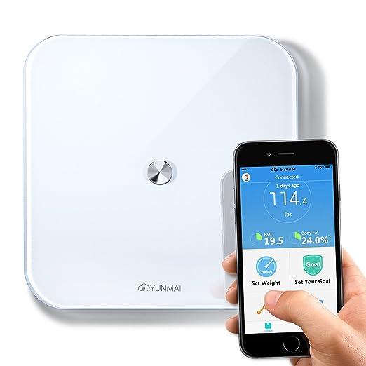3 opinioni per Bilancia Pesapersone Bluetooth APP BMI Yunmai SE Bilancia Pesapersone