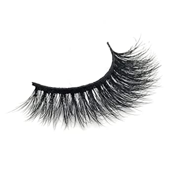 1c3870e9cf9 Amazon.com : False Eyelashes 3D Mink Eyelashes Luxury Handmade Mink Lashes  Natural Long Eye Lashes Cross Thick Fluffy False Lash AMAOLASH J042 : Beauty