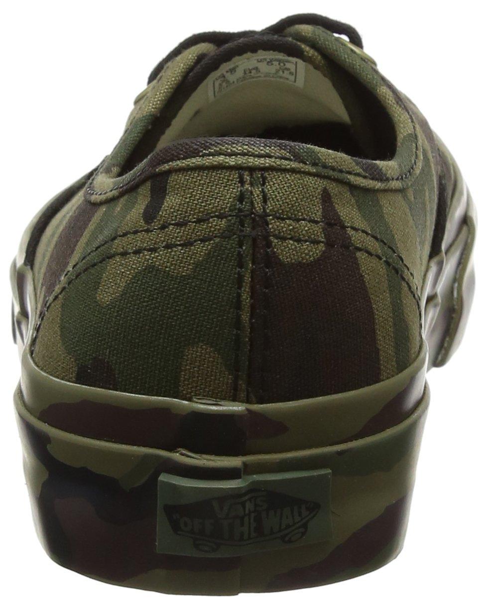 Vans Authentic Unisex-Erwachsene Authentic Vans Sneaker Grün (Mono Print) 42a24f