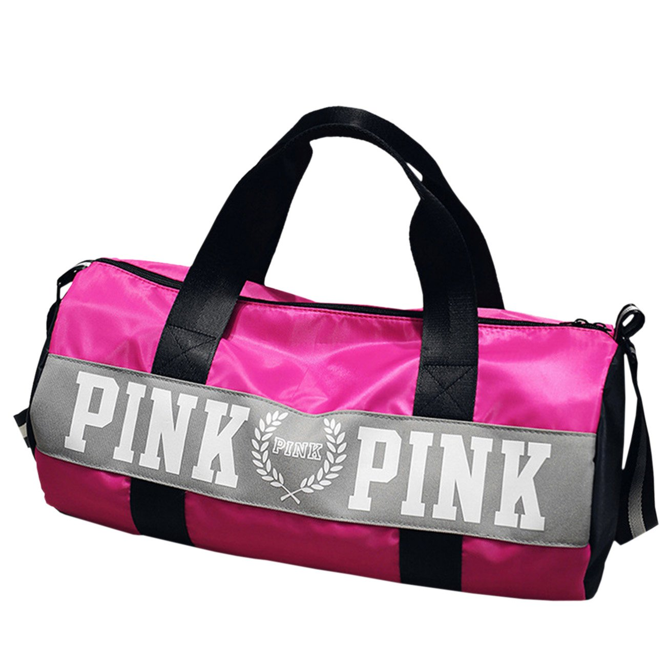 THEE High Capacity Waterproof Sports Bag Travel Tote Bag PFFPBB647pk
