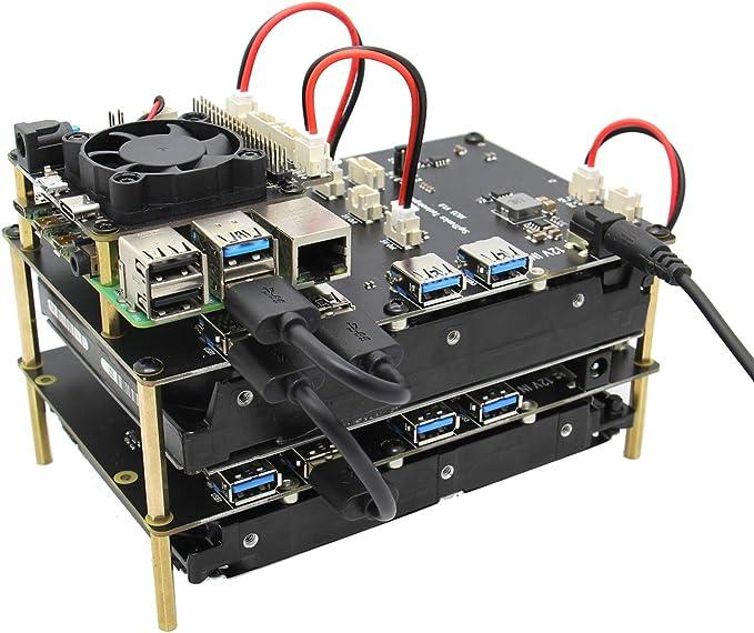 Geekworm Raspberry Pi Sata Adapter 3 5 X835 3 5 Inch Computer Zubehör