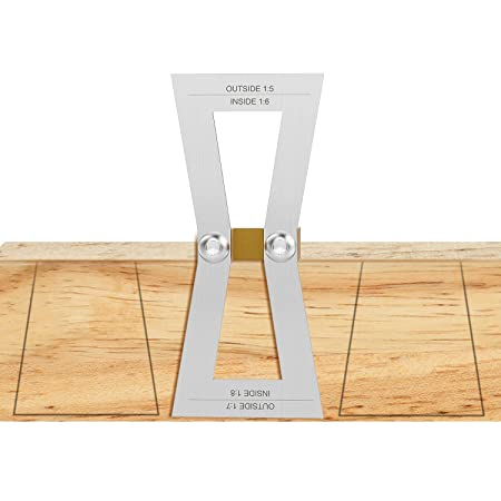 Dovetail Marker With Scale Housolution Hand Cut Wood Joints Gauge