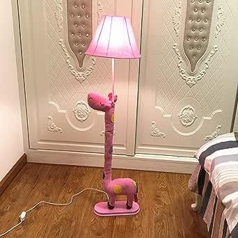 Extremo de Caricatura Estimulante dálmata Dormitorio Lámpara de pie habitación de los Niños Creativos de lámpara de suelo de bebé habitación suelo Leuchten: Amazon.es: Iluminación