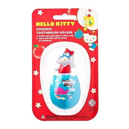 Soporte para cepillos de dientes Hello Kitty Sanrio niños Piscina higiénico soporte para cepillos de dientes
