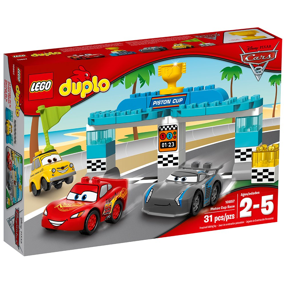 Amazon Lego Duplo Piston Cup Race 10857 Building Kit Toys Games