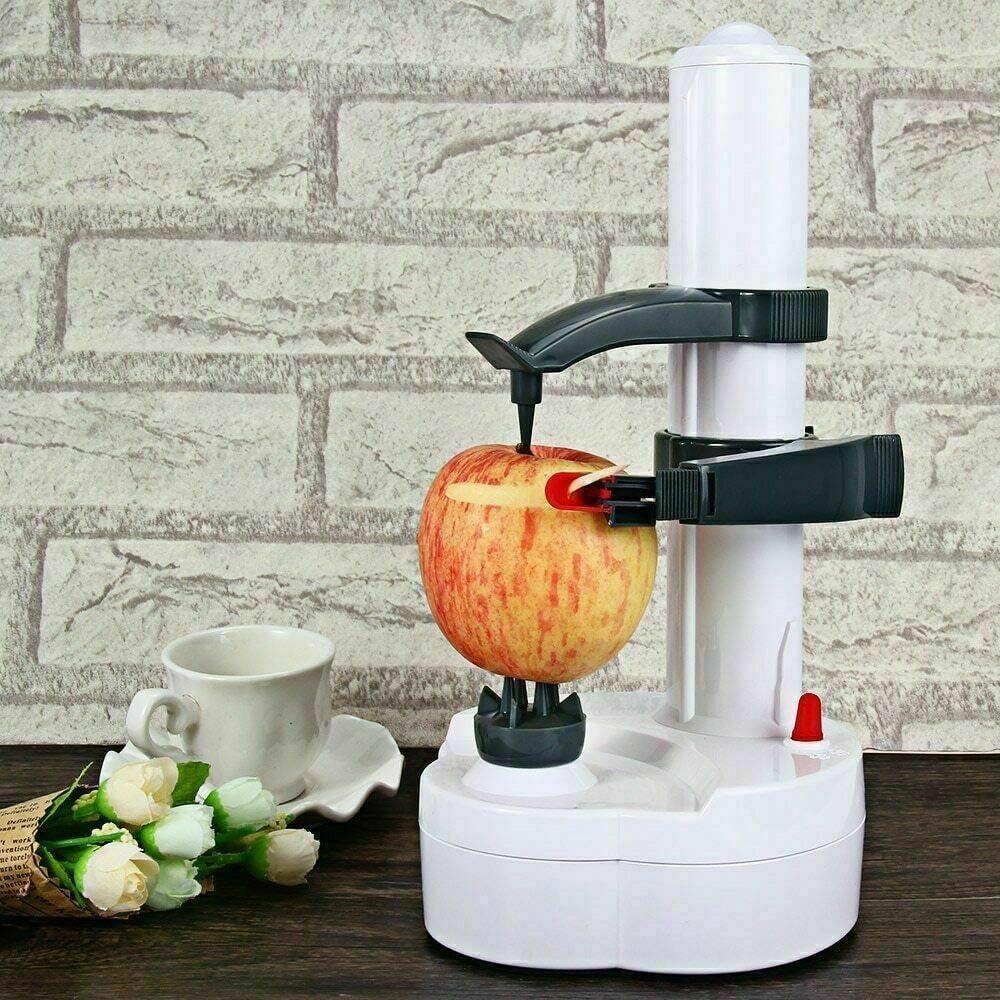SXHSJJ Peladora automática eléctrica de Acero Inoxidable Máquina de pelar Naranja de Fruta de Papa