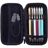 iDream365 Hard Protective EVA Carrying Case/Pouch/Holder for Executive Fountain Pen,Ballpoint Pen,Active Stylus Pen-Black