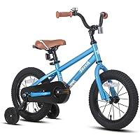 JOYSTAR Totem Kids Bike Boys Girls BMX Style Bicycles 12 14 16 18 Inch with Training Wheels, 18 Inch with Kickstand…