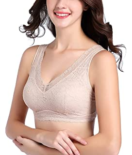 7584b02b0b Intimate Portal Ange Pocketed Lace Bra - Full Coverage Lightly Padded Wire  Free