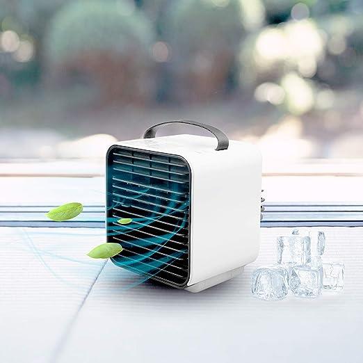 Aire acondicionado usb,Aire acondicionado portátil, pequeño, 3 en ...