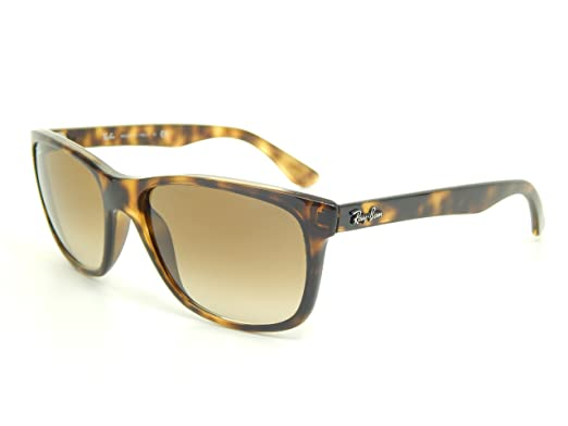 cf1d13369dd8 Ray Ban RB4181 710 51 Tortoise  Brown Gradient 57mm Sunglasses  Amazon.co.uk   Clothing