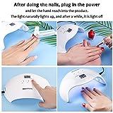 UV Nail Lamp 40W Nail Dryer, NAVANINO 30/60 / 99s