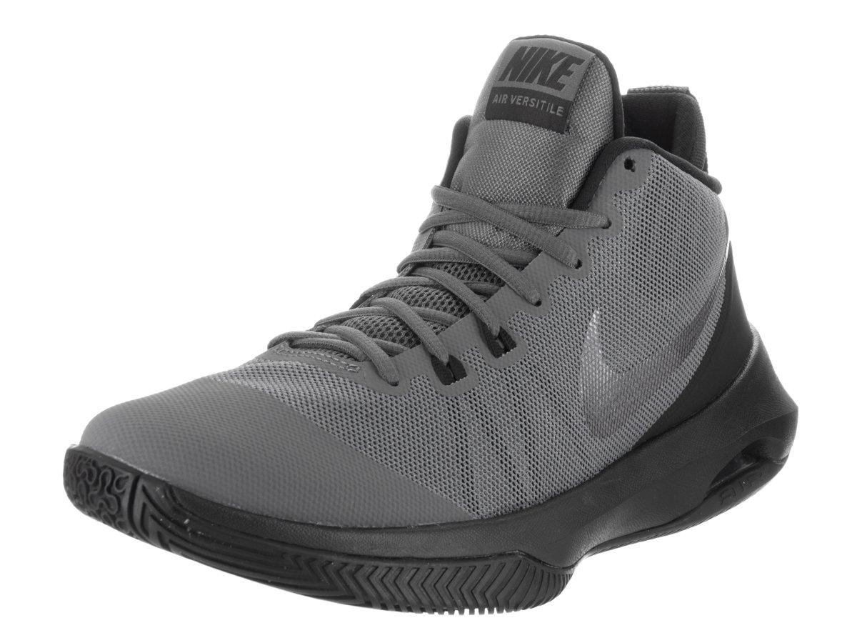 quality design 1b445 b4bb2 Galleon - Nike Men s Air Versitile Nubuck Basketball Shoe Metallic Dark  Black Cool Grey, 8.5 D US