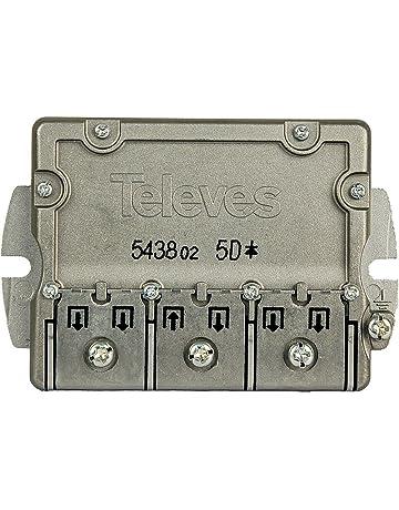 Televes 543802 - Repartidor 5 direcciónes ict-cc
