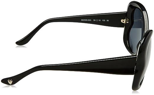 Moschino Donna MO-59806-S Occhiali da sole, Nero (Black), 58