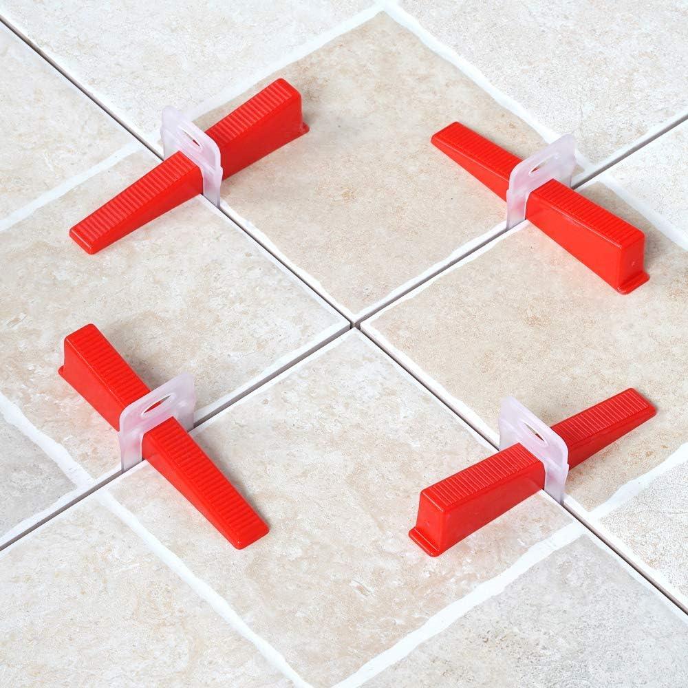 Kit de nivelaci/ón de azulejos para herramientas de construcci/ón de paredes de cer/ámica