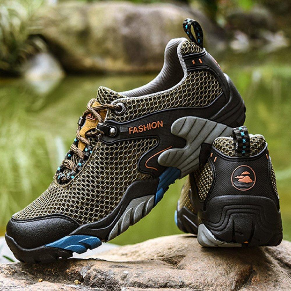 HGDR Männer Männer Männer Sommer Trekking Wanderschuhe Mesh Atmungsaktive Outdoor Wasser Schuhe Sport Laufschuhe Kletterschuhe B07FFSDT2X Kletterschuhe Günstige Bestellung 3c0c3f