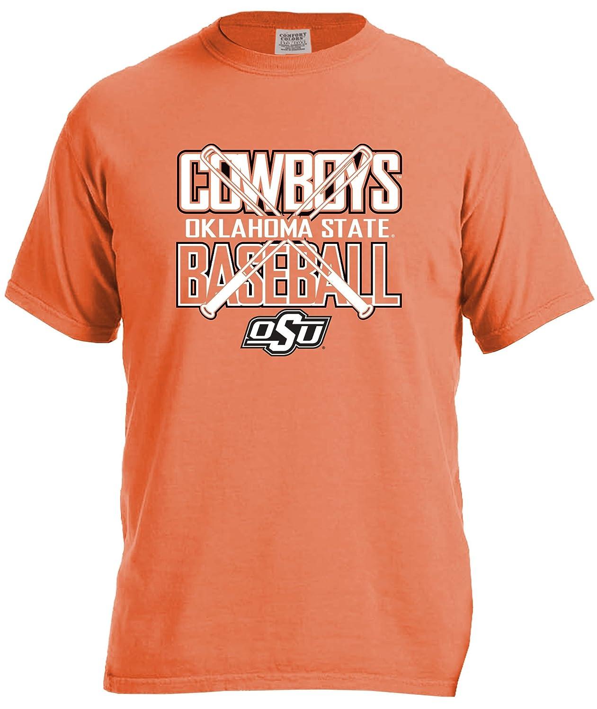 好きに NCAA Oklahoma NCAA State Cowboys Baseball Bats半袖快適カラーTシャツ Baseball、スモール State、burntorange B01MTQ5VHG, 上品なスタイル:ed22bebe --- a0267596.xsph.ru