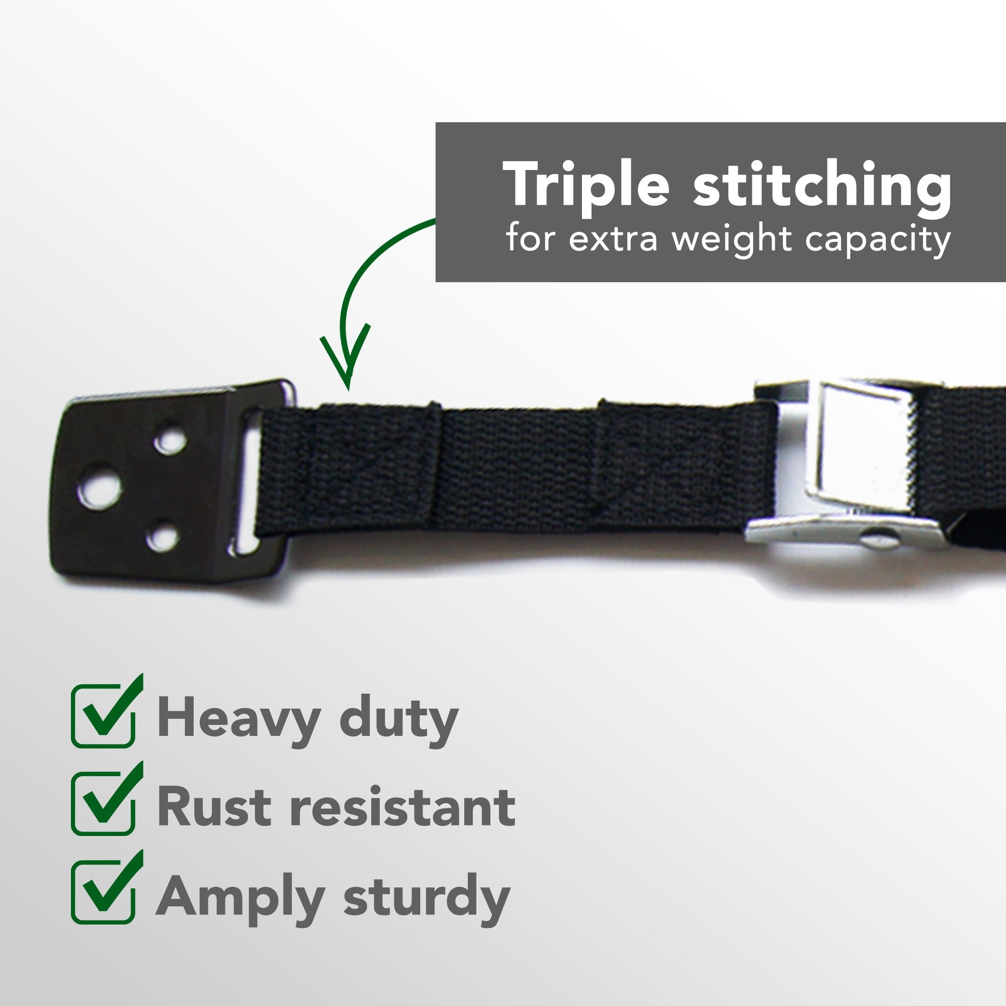 Earthquake proof resistant strap CALIBER Anti-tip straps for Tv and Furniture
